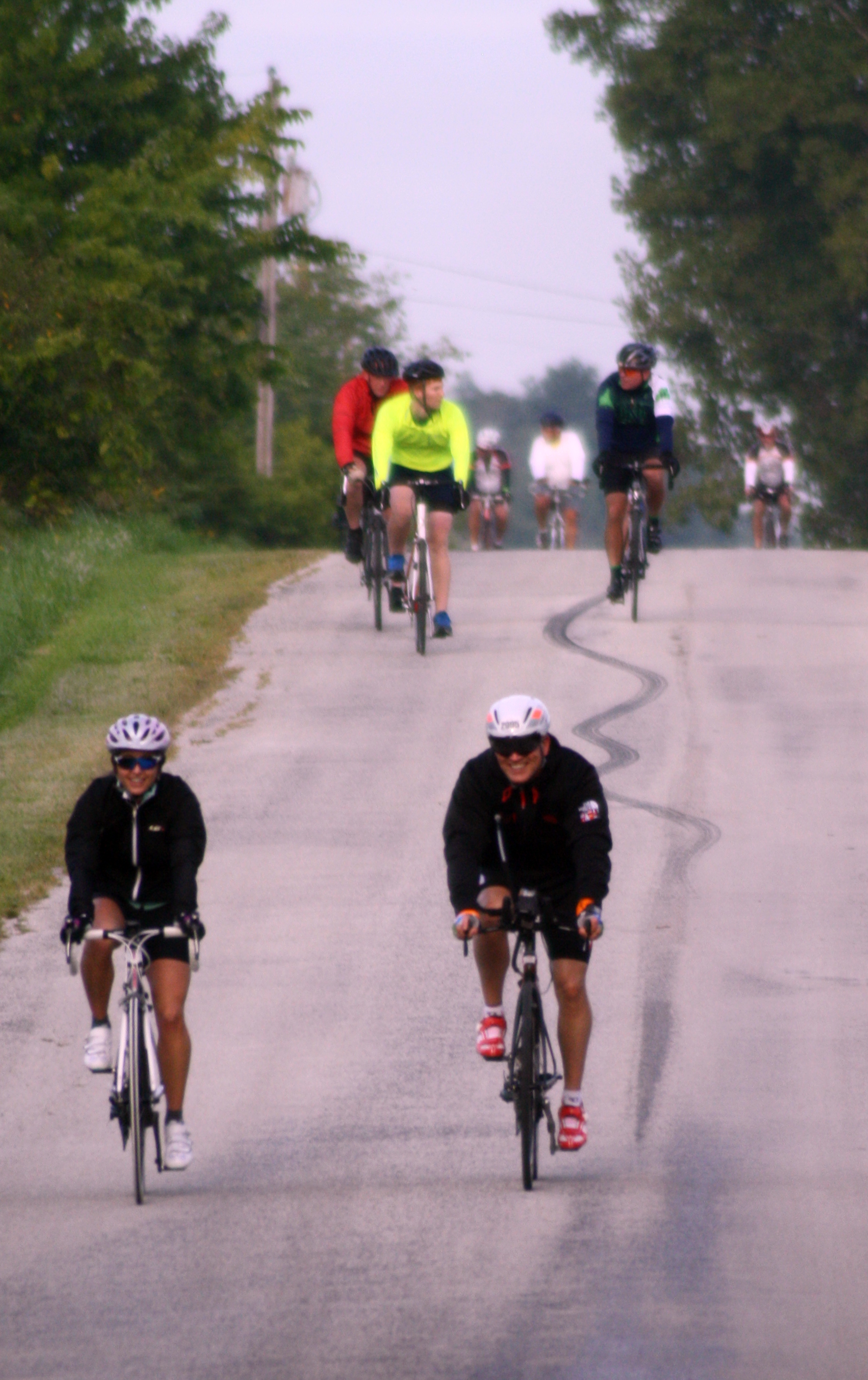 Indiana wabash county lagro - Riders Make Their Way Along A Rural Wabash County Road East Of Lagro During The 2014 Dam To Dam Ride