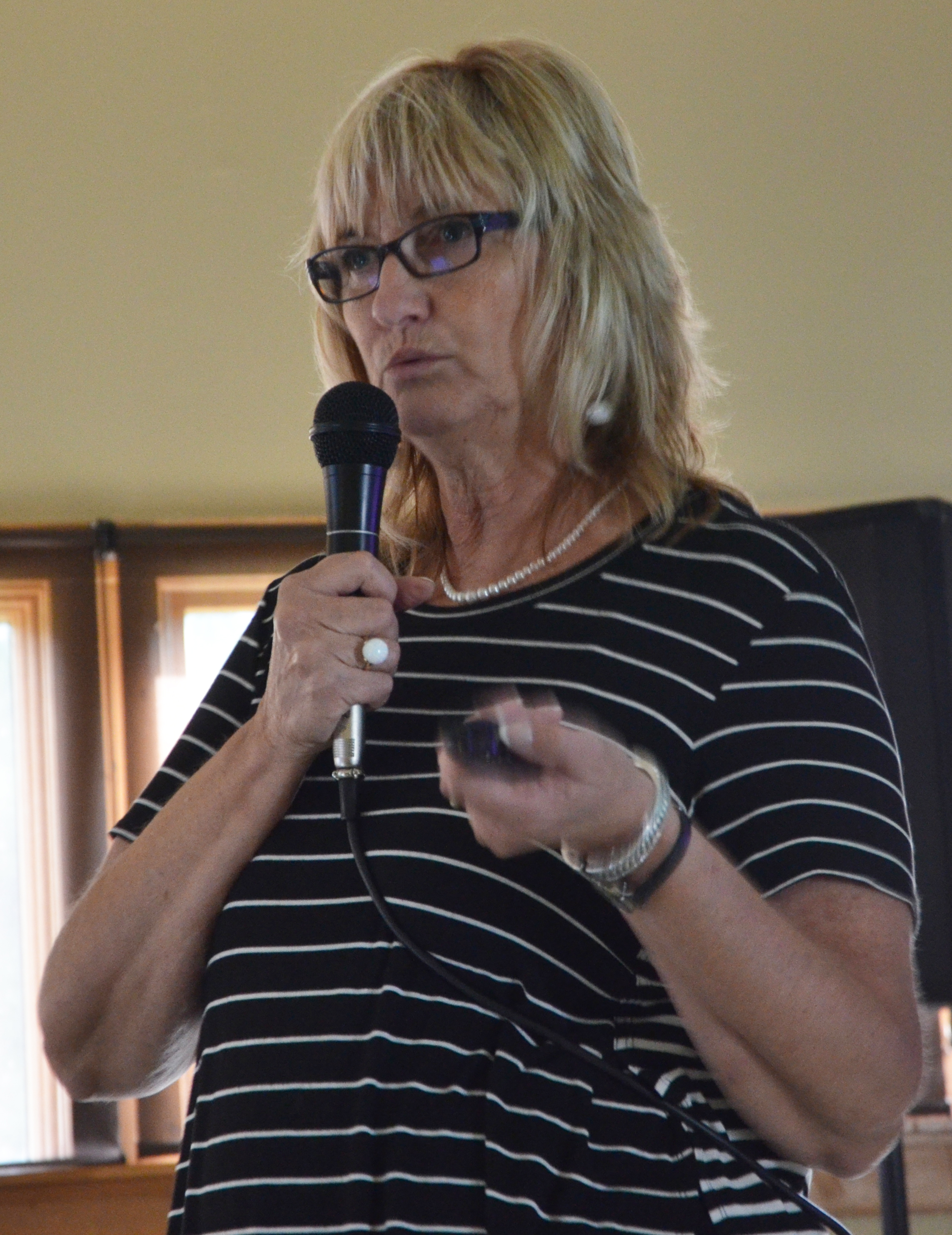 Indiana wabash county lagro - Beth Gillespie President Of The Lagro Canal Foundation Speaks To A Crowd Wednesday June 28 About The Newly Formed Foundation S Goals And Plans To